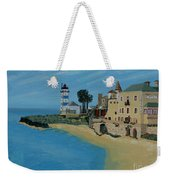 European Lighthouse Weekender Tote Bag