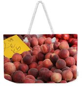 European Markets - Peaches And Nectarines Weekender Tote Bag