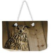 European Owl Weekender Tote Bag