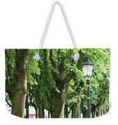 European Park Trees Weekender Tote Bag