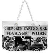 Evans Garage, 1936 Weekender Tote Bag