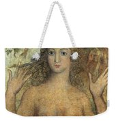 Eve Naming The Birds Weekender Tote Bag