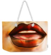 Even Hotter Lips Weekender Tote Bag