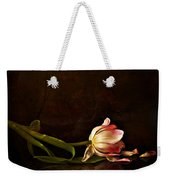 Even Though A Flower Fades Weekender Tote Bag
