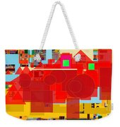 Even Though Yisroel Are Impure The Divine Presence Is Among Them 23a Weekender Tote Bag