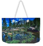 Evening At Cathedral Lakes Weekender Tote Bag
