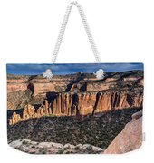 Evening At Colorado National Monument Weekender Tote Bag
