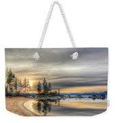 Evening At Sand Harbor Weekender Tote Bag