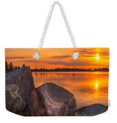Evening Beauty Weekender Tote Bag