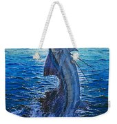 Evening Bite Weekender Tote Bag