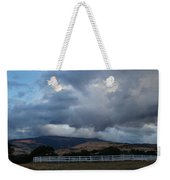 Evening Clouds Over Ashland Farm Country Weekender Tote Bag