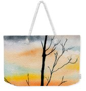 Evening Comes Weekender Tote Bag