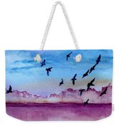 Evening Dance Weekender Tote Bag
