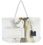 Evening Dress, Fashion Plate Weekender Tote Bag