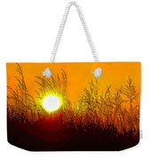 Evening Dunes Weekender Tote Bag