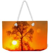 Evening Ember Sunset Weekender Tote Bag