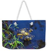 Evening Encloses The Aging Lily Pad Weekender Tote Bag