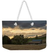 Evening Farm Scene Near Ashland Weekender Tote Bag
