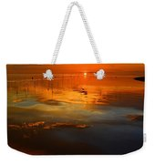 Evening Fishing Weekender Tote Bag