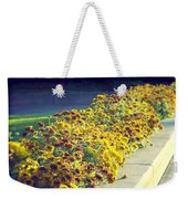 Evening Flowers Weekender Tote Bag