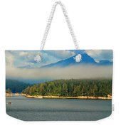 Evening Fog Weekender Tote Bag