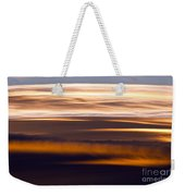 Evening Golds Weekender Tote Bag