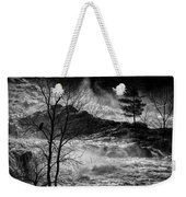 Evening Great Falls Maine Weekender Tote Bag