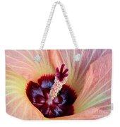 Evening Hau Blossom Weekender Tote Bag