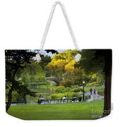 Evening In Central Park Weekender Tote Bag