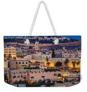 Evening In Jerusalem Weekender Tote Bag