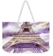 Evening In Paris A Walk To The Eiffel Tower Weekender Tote Bag