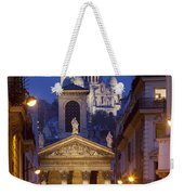 Evening In Paris Weekender Tote Bag