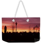 Evening In Riverfront Park Weekender Tote Bag