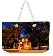 Evening In Small Town U. S. A. Weekender Tote Bag