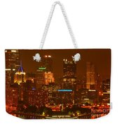 Evening In The City Of Champions Weekender Tote Bag