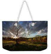 Evening In The Park Weekender Tote Bag