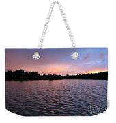 Evening Light Amazon River Weekender Tote Bag