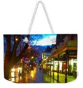 Evening Light On Lord Street Weekender Tote Bag