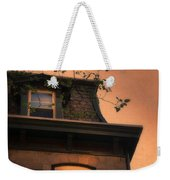 Evening Light On Old House Weekender Tote Bag