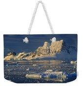 Evening Light On Peaks Paradise Bay Weekender Tote Bag
