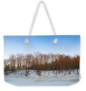 Evening Light On The Trees Weekender Tote Bag