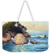 Evening Light Point Lobos Weekender Tote Bag