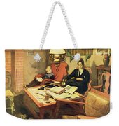Evening Light, Pub. In Lasst Licht Weekender Tote Bag
