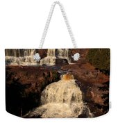 Evening Light Waterfalls Weekender Tote Bag