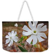 Evening Lychnis Weekender Tote Bag