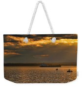 Evening Mariners Puget Sound Washington Weekender Tote Bag