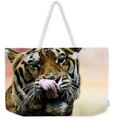 Evening Meal Weekender Tote Bag