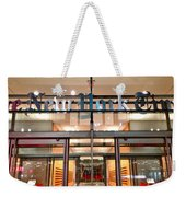 The Evening New York Times Weekender Tote Bag