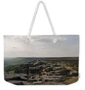Evening On Stanage Edge Weekender Tote Bag