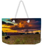 Evening On The Farm Five Weekender Tote Bag